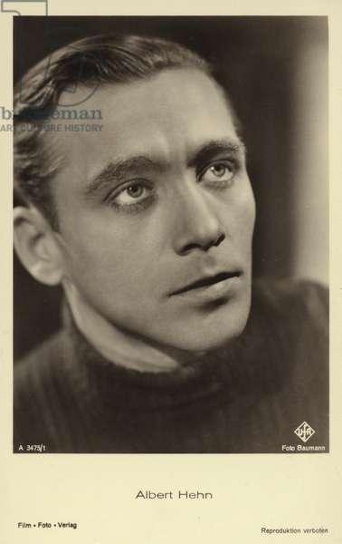 Albert Hehn (b/w photo)