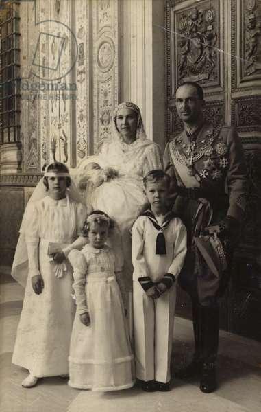 William German Crown Prince (b/w photo)