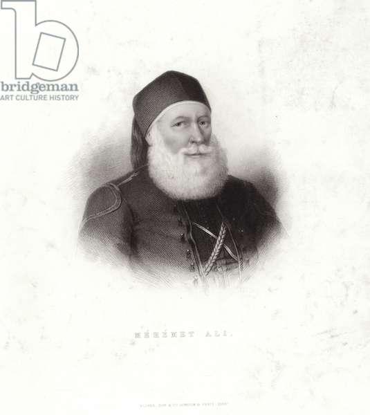 Mehemet Ali (engraving)