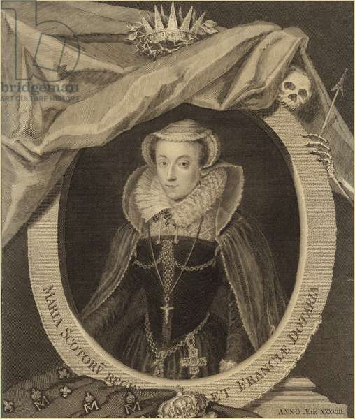 Portrait of Mary, Queen of Scots (engraving)