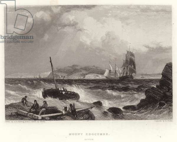 Mount Edgcumbe, Devon (engraving)