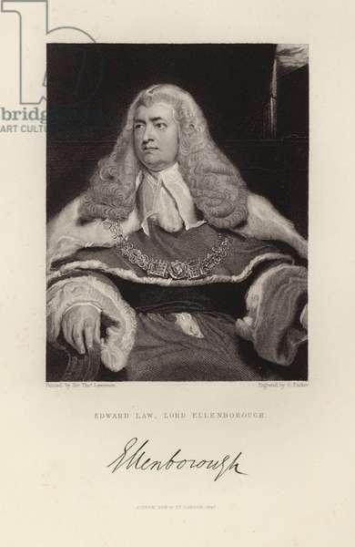 Lord Ellenborough (engraving)