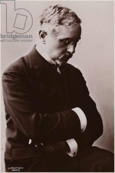 Portrait of Florent Schmitt (b/w photo)