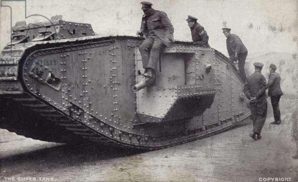 The Super Tank (b/w photo)
