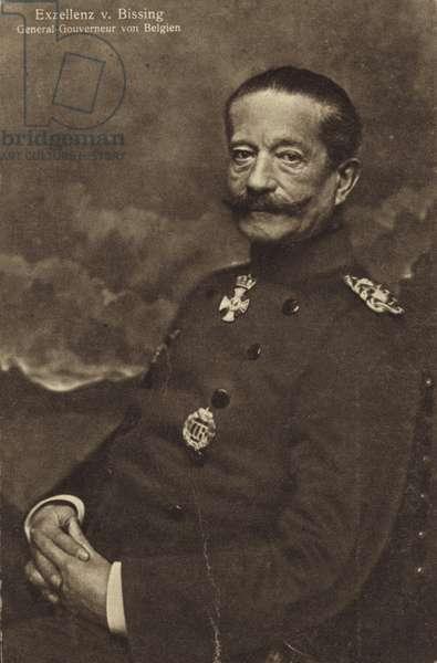 General Moritz von Bissing (b/w photo)