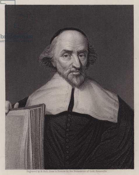 John Knox, Scottish clergyman of the Protestant Reformation (engraving)