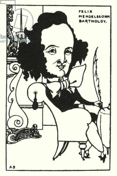 Felix Mendelssohn Bartholdy (engraving)