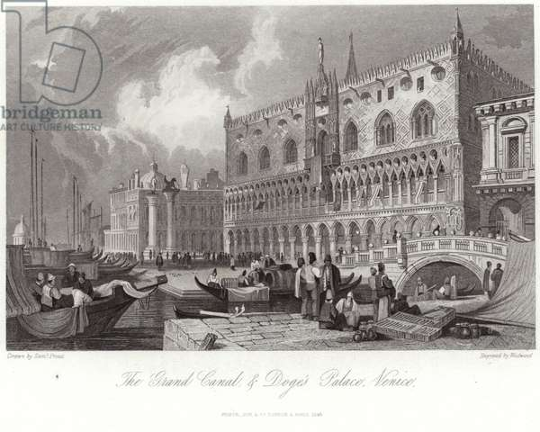 The Grand Canal and Doge's Palace (engraving)