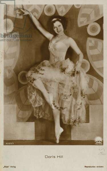 Doris Hill (b/w photo)