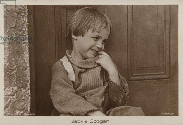 Jackie Coogan (b/w photo)