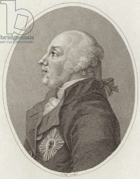 Frederick William II of Prussia (engraving)