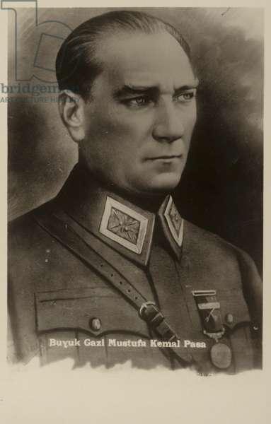 Mustafa Kemal Ataturk (litho)