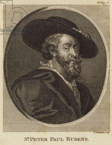 Portrait of Peter Paul Rubens (engraving)
