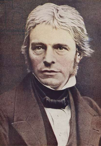 Michael Faraday, English physicist and chemist (coloured photo)