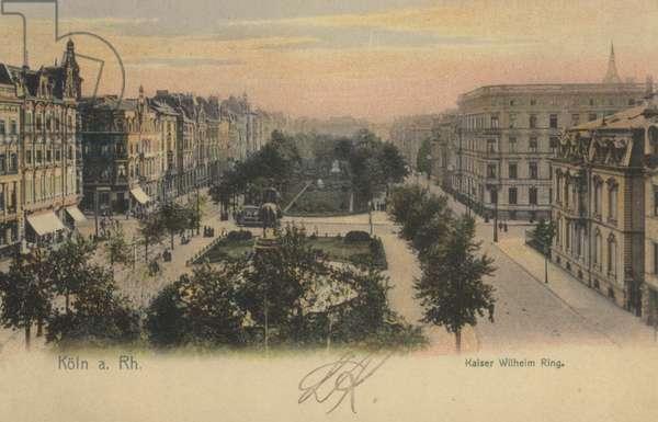 Kaiser Wilhelm Ring, Cologne, Germany
