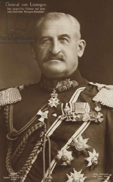 General von Linsingen (b/w photo)