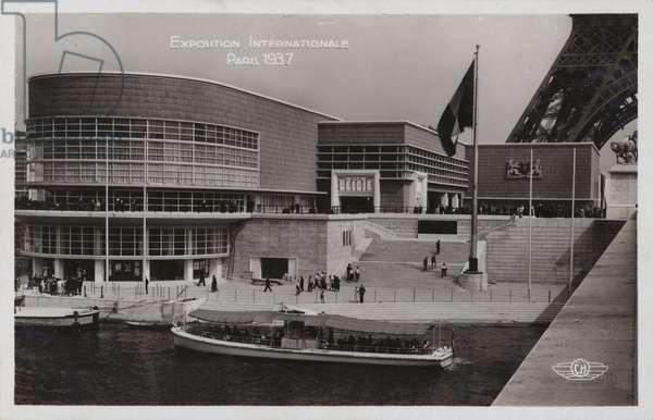 Belgian Pavilion, Exposition Internationale, Paris, 1937 (b/w photo)