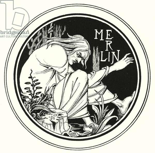 Merlin (engraving)