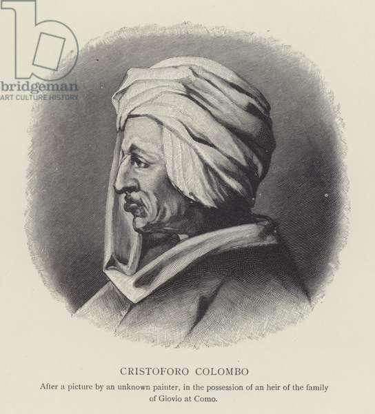 Christopher Columbus (litho)