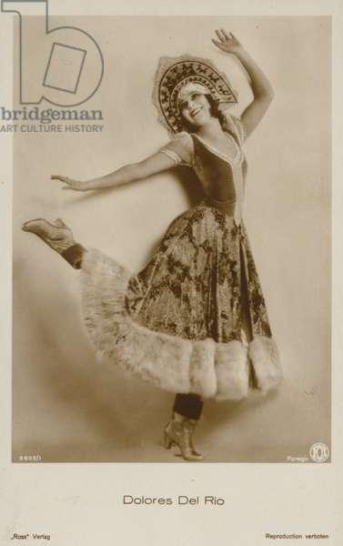 Dolores Del Rio (b/w photo)