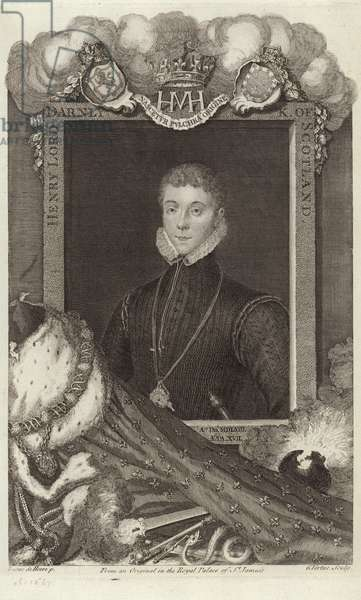 Portrait of Henry, Lord Darnley (engraving)