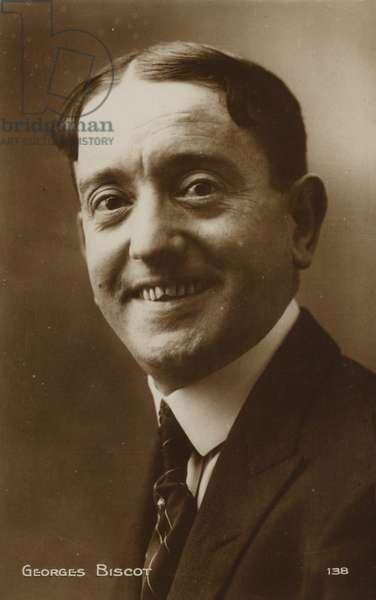 Georges Biscot (b/w photo)