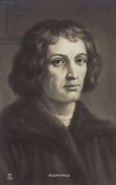 Nicolaus Copernicus (1473-1543), Polish astronomer (litho)