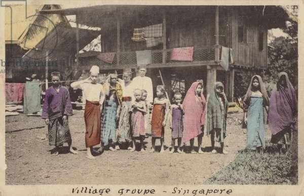 Village groupe-Singapore (photo)