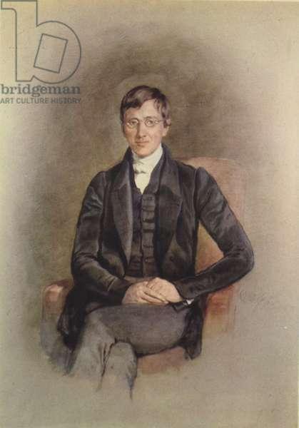 John Henry Newman 1801-1890 (colour litho)