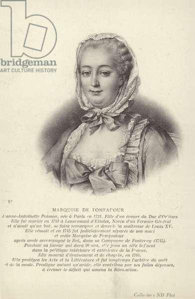 Marquise de Pompadour (litho)