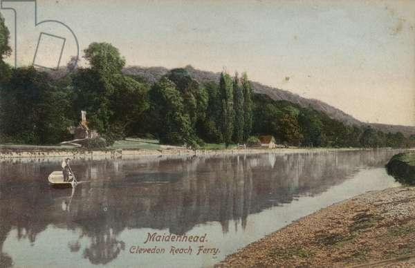 Maidenhead, Clevedon Reach Ferry (photo)
