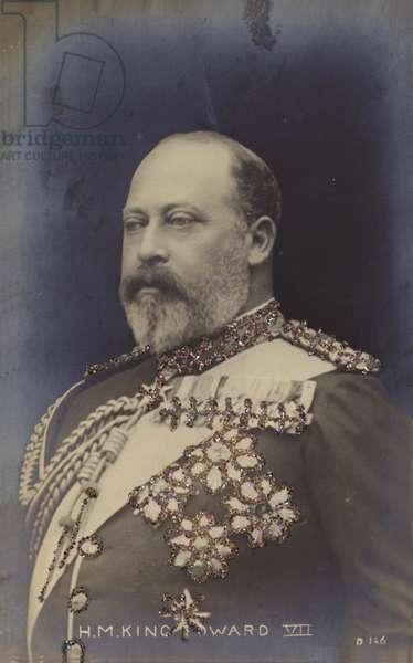 Edward VII (coloured photo)