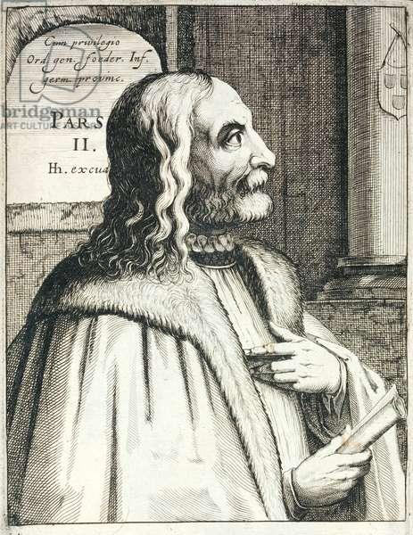Albrecht Durer, German Renaissance painter and printmaker (engraving)