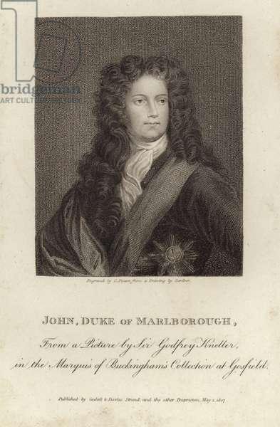 Portrait of John Churchill, Duke of Marlborough (engraving)