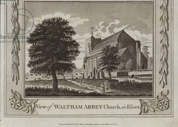 View of Waltham Abbey Church (engraving)