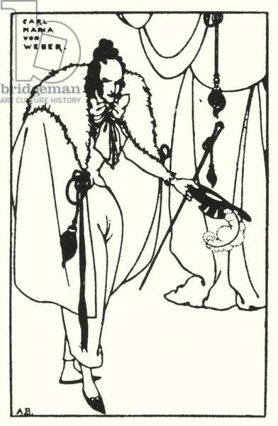 Carl Maria Von Weber (engraving)