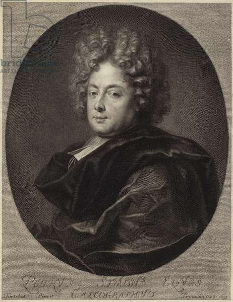 Portrait of Petrus Simon (engraving)
