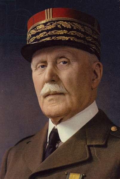 Marshal Pétain (photo)