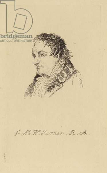 Joseph Mallord William Turner (litho)