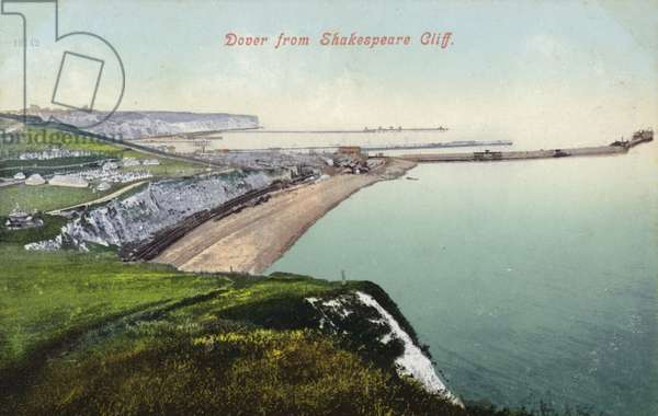Dover from Shakespeare Cliff (photo)