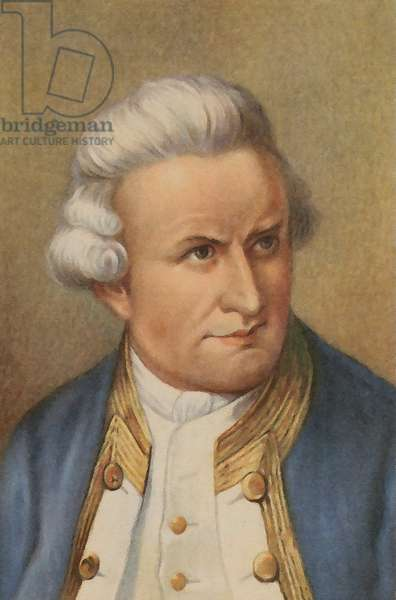 James Cook (colour litho)