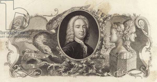 William Murray, 1st Earl of Mansfield, English lawyer, politician and judge (engraving)