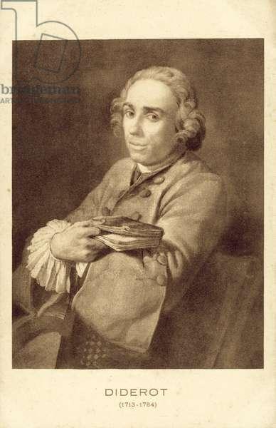 Denis Diderot (litho)