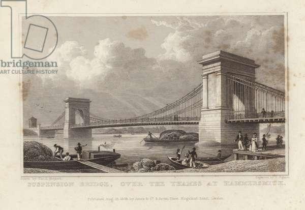 Suspension Bridge (engraving)