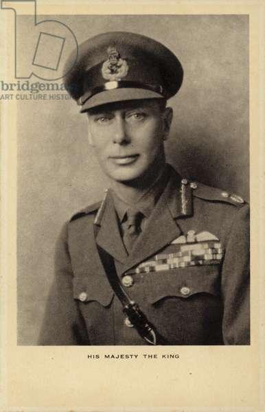 George VI (b/w photo)