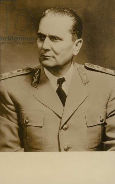 Tito (b/w photo)