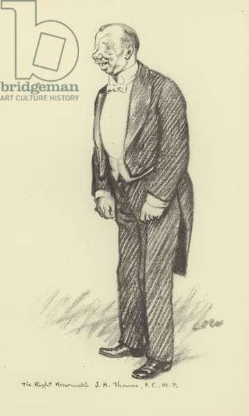 James Henry Thomas (litho)