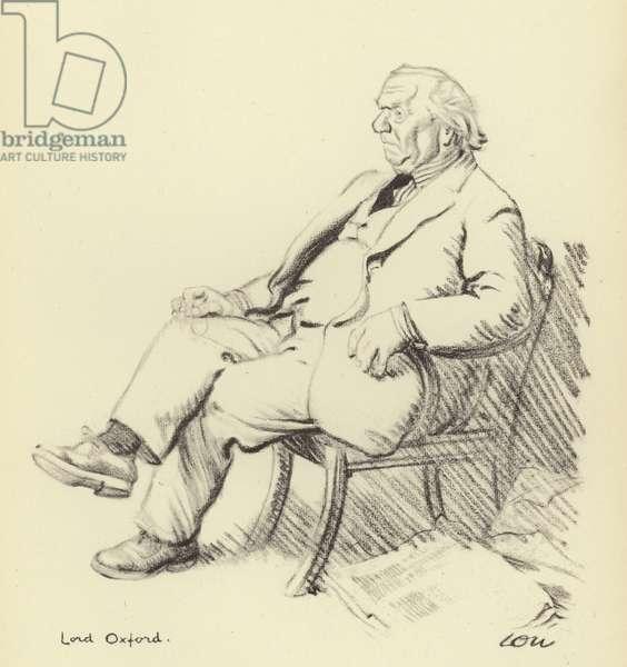 Herbert Henry Asquith (litho)