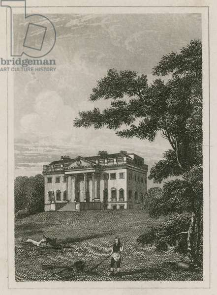 Claremont House, Esher, Surrey (engraving)