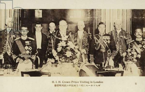 Hirohito (b/w photo)